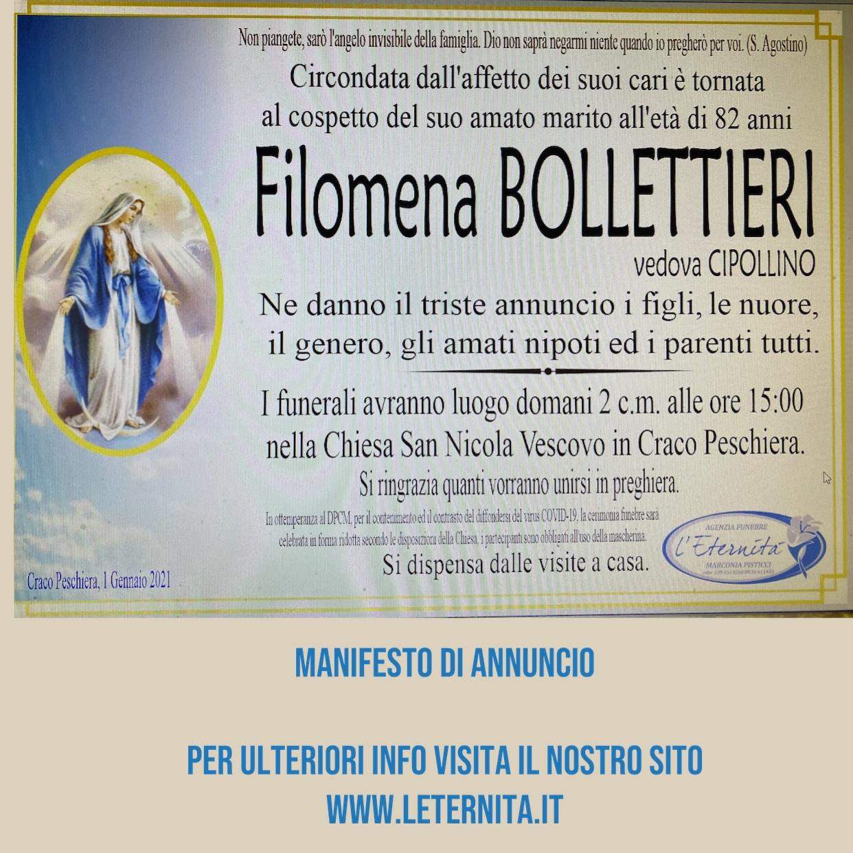 Filomena BOLLETTIERI