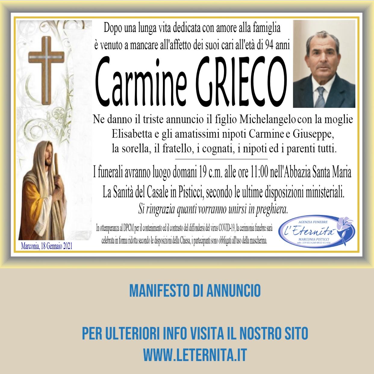 Carmine GRIECO