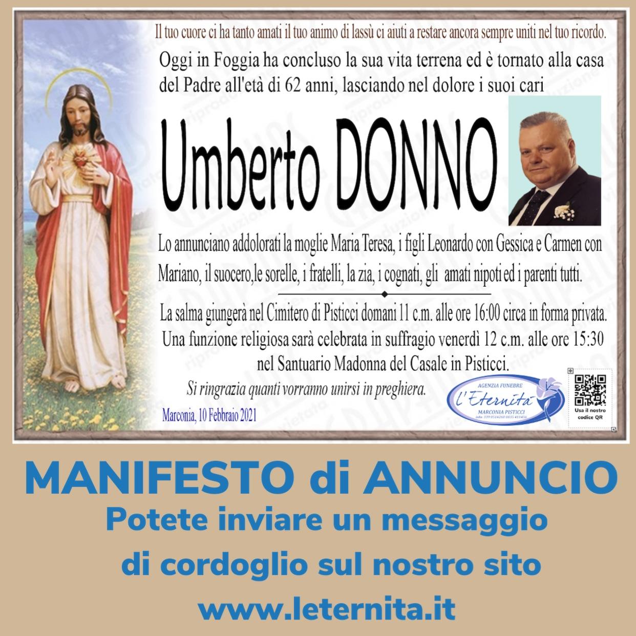 Umberto DONNO