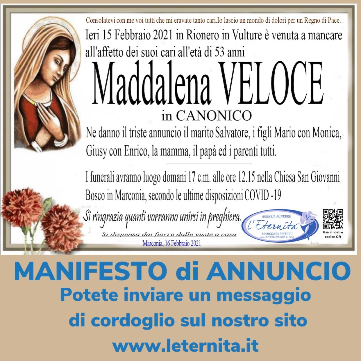 Maddalena VELOCE