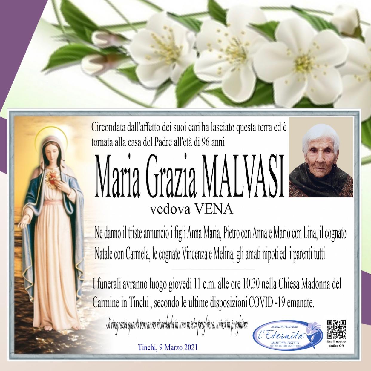 Maria Grazia MALVASI