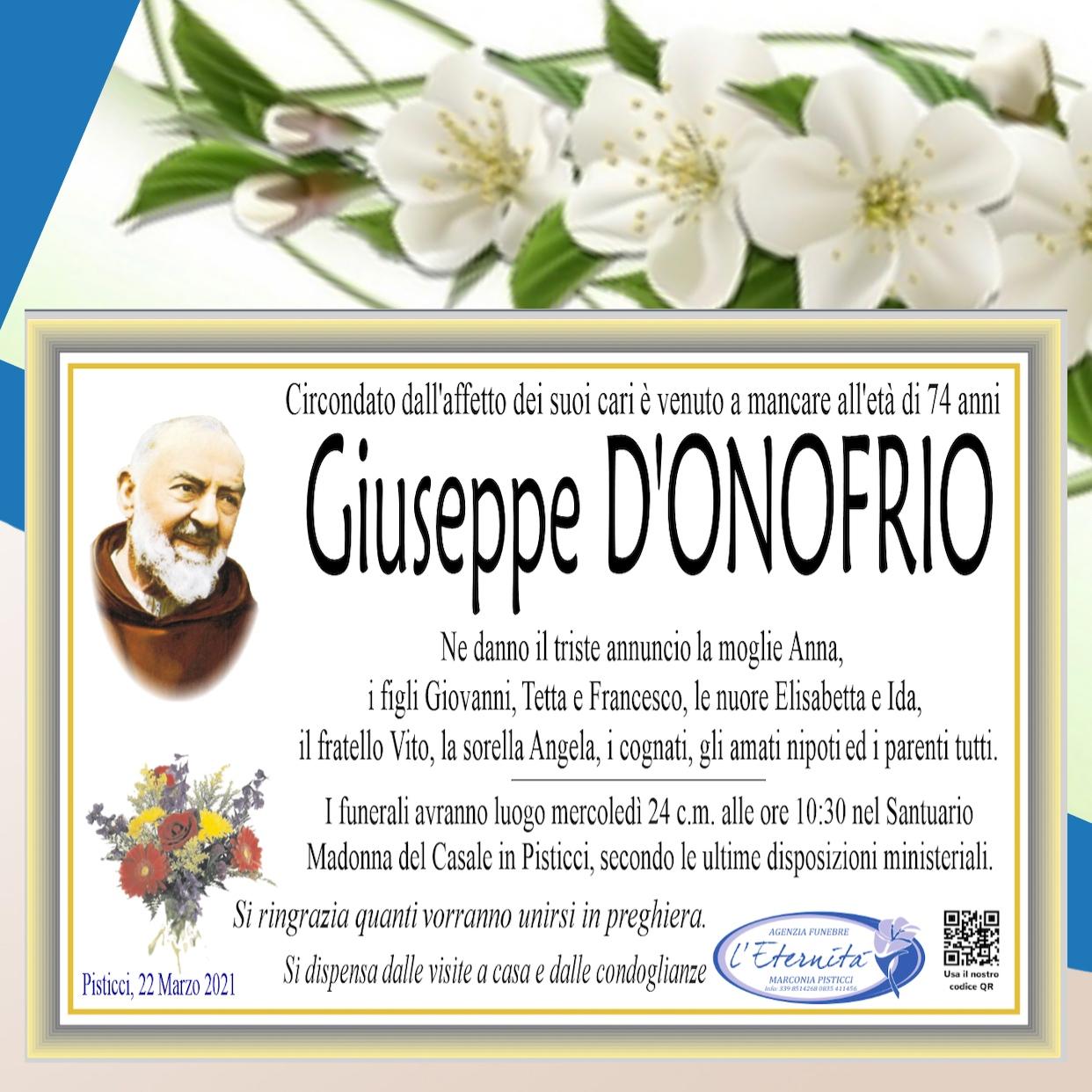 Giuseppe D'ONOFRIO