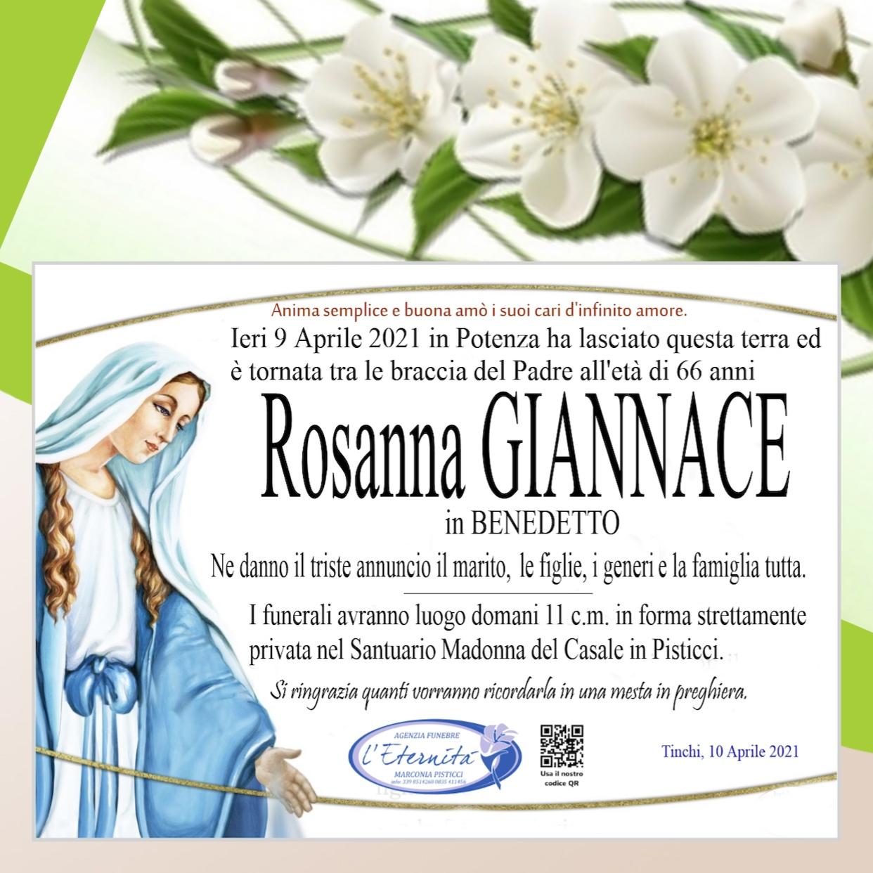 Rosanna GIANNACE