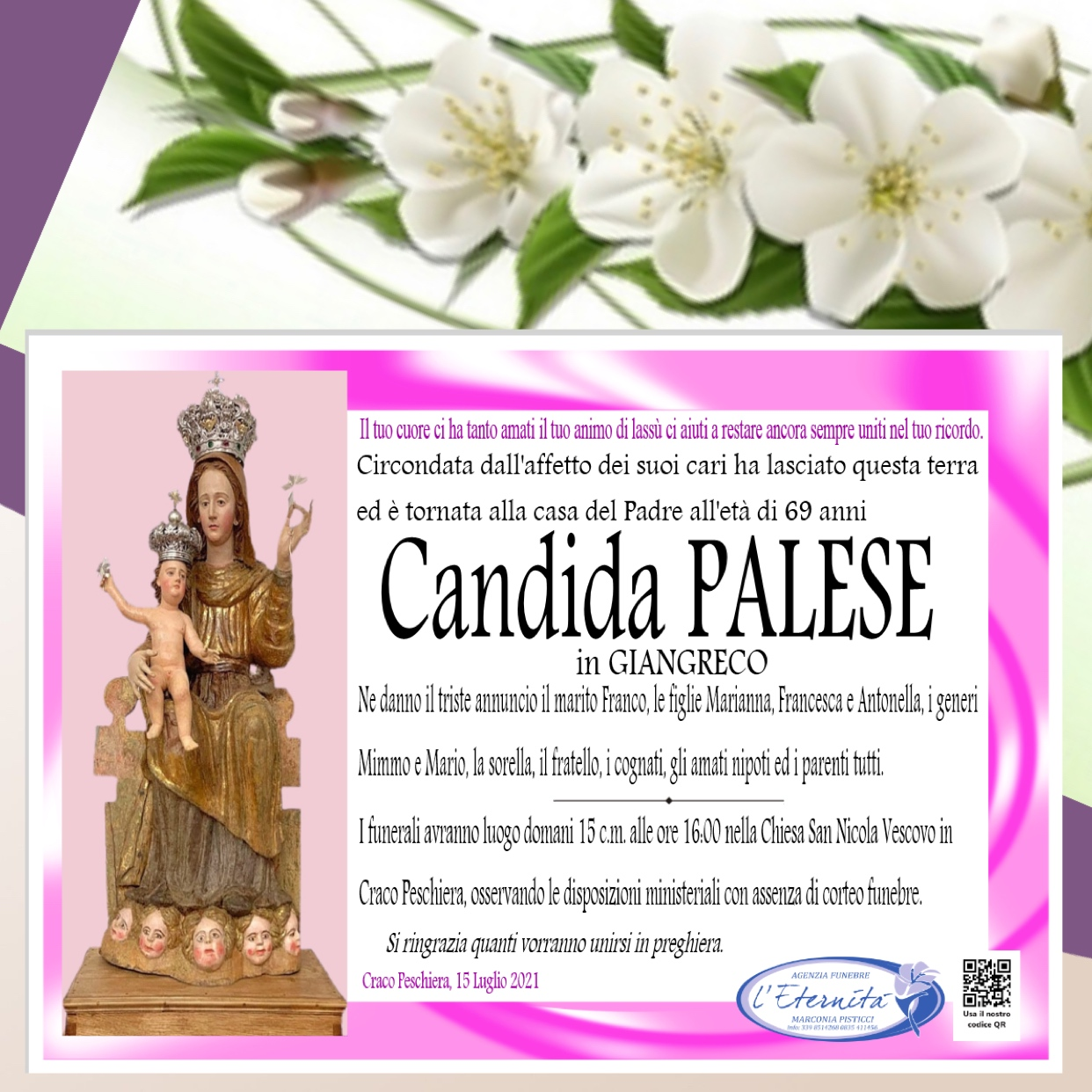 Candida PALESE