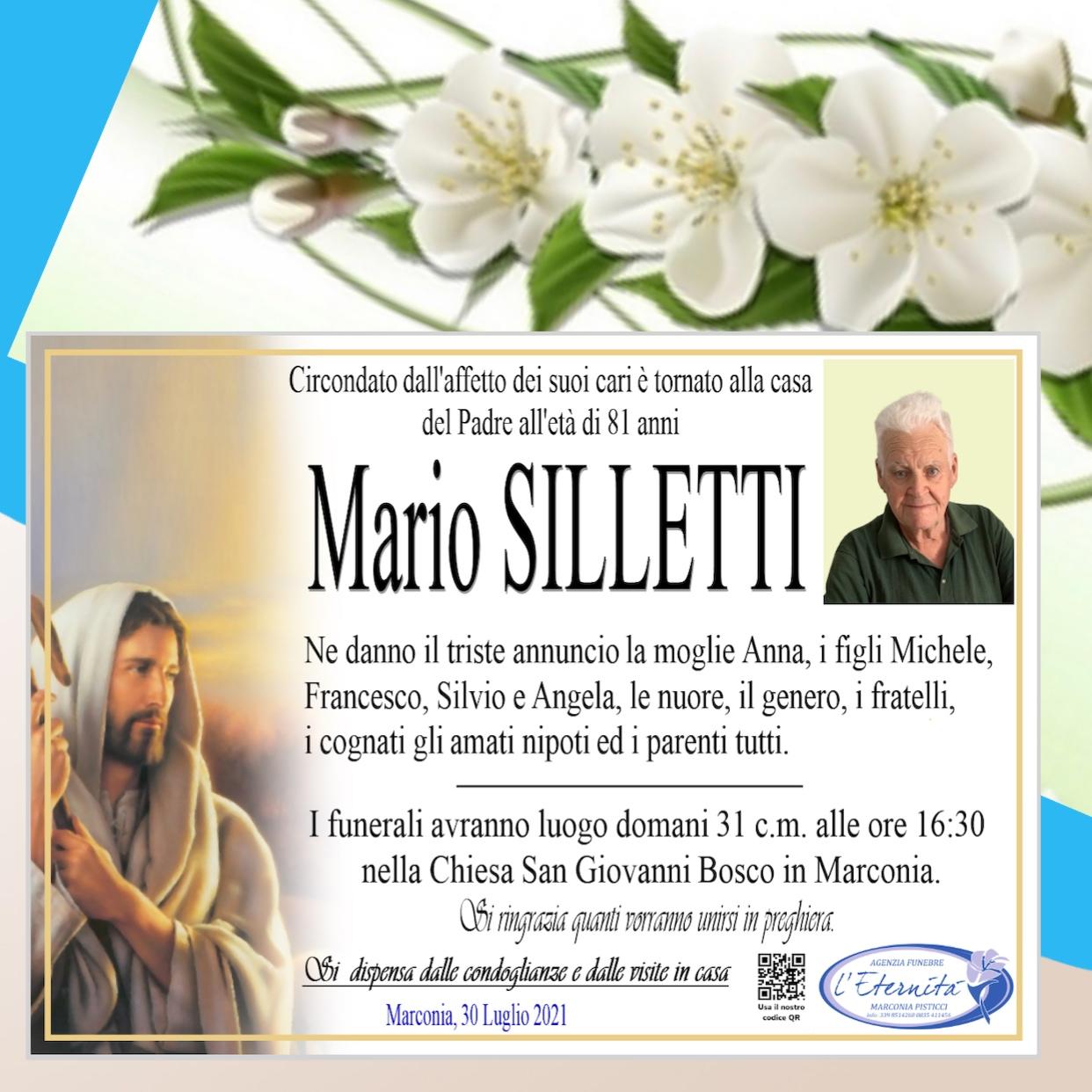 Mario SILLETTI