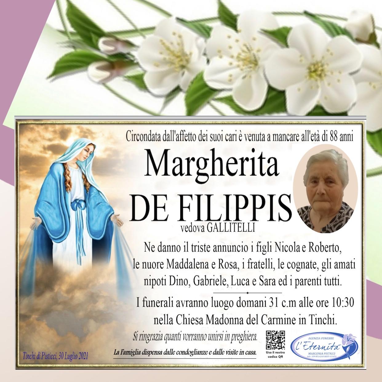 Margherita DE FILIPPIS
