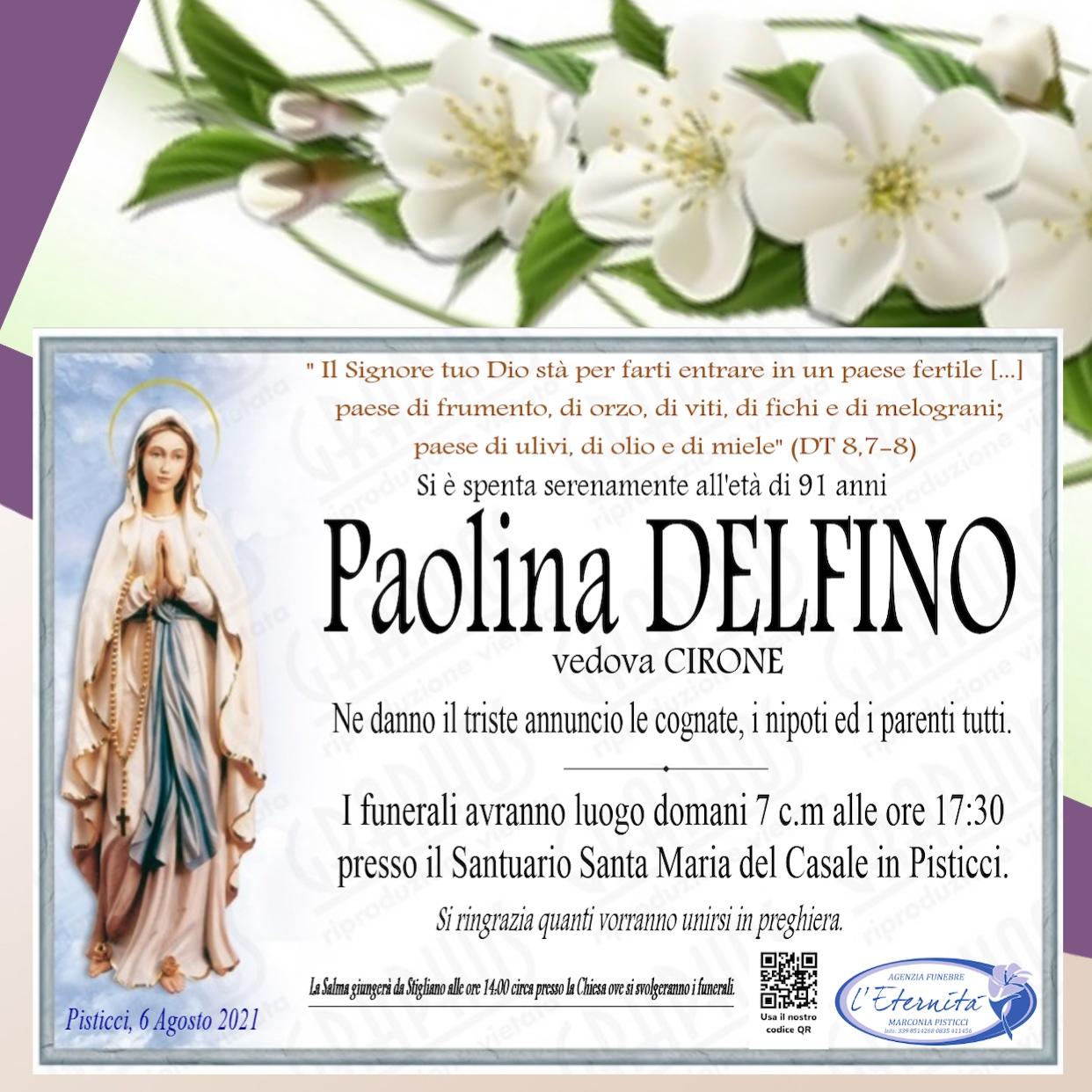 Paolina DELFINO
